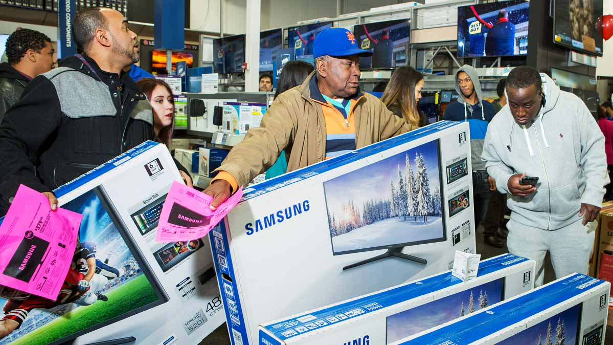 Buy A Tv Best Buy Black Friday Ad Has Tons Of Tvs And A Few Great Deals