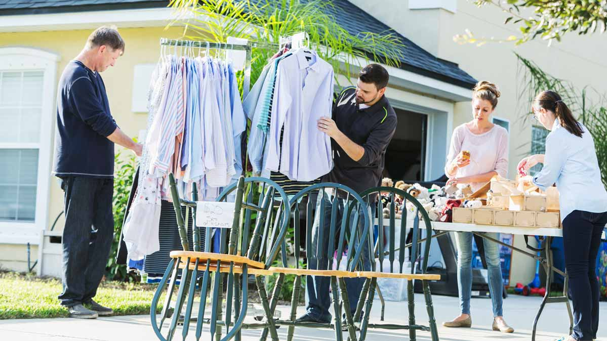 Garage Sale Price Stickers 7 Ways To Score Brilliant Bargains At Garage Sales Consumer Reports