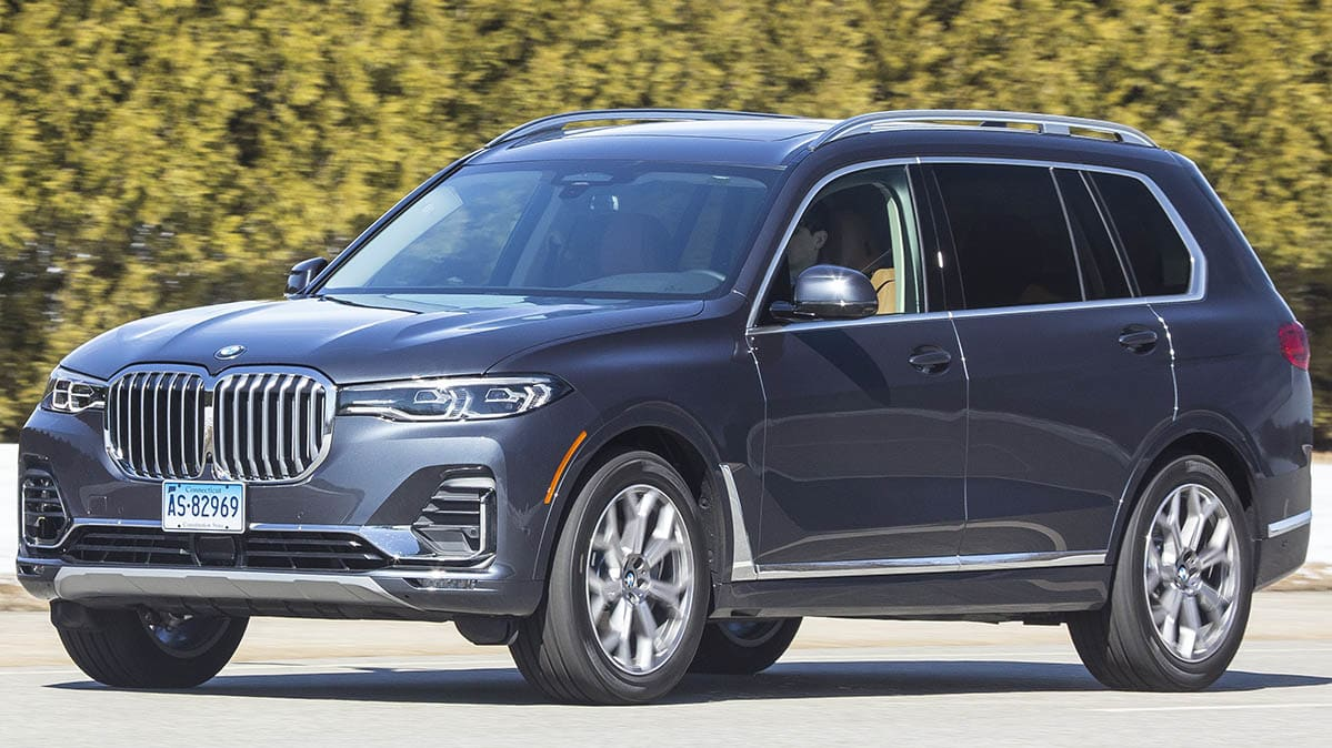 Infant Car Seat Guide 2019 Bmw X7 Is Luxurious Large And In Charge Consumer