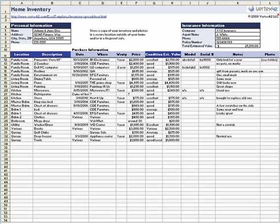 21 plantillas de Excel asombrosamente útiles para el trabajo y para - formato inventario en excel