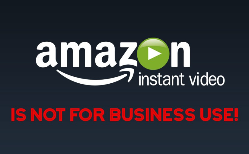 Using Amazon Prime Video on Your Business TV: Don't Put Yourself at Risk