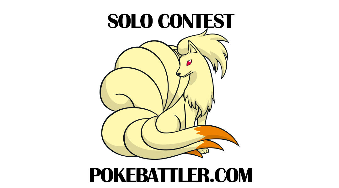 Announcing the 1st Pokebattler Contest Solo a Ninetales, win a Year