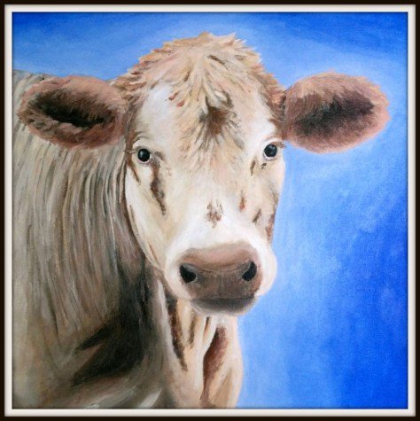 Second Place Winner - Julia DeValk - White Cow
