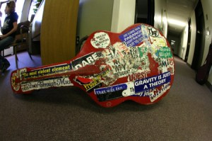 Pete Seeger's Grandson's Guitar Case