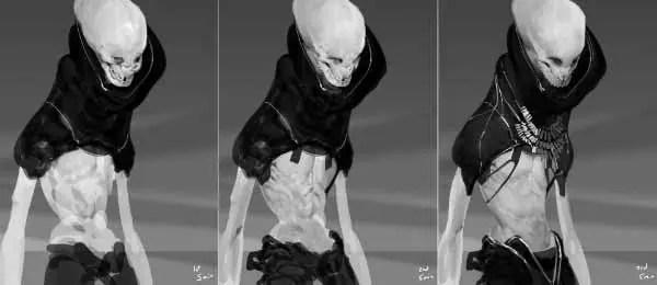 Humanoid Alien Concept Art 50+ Cool Designs Of Extraterrestrial Races - cool designs