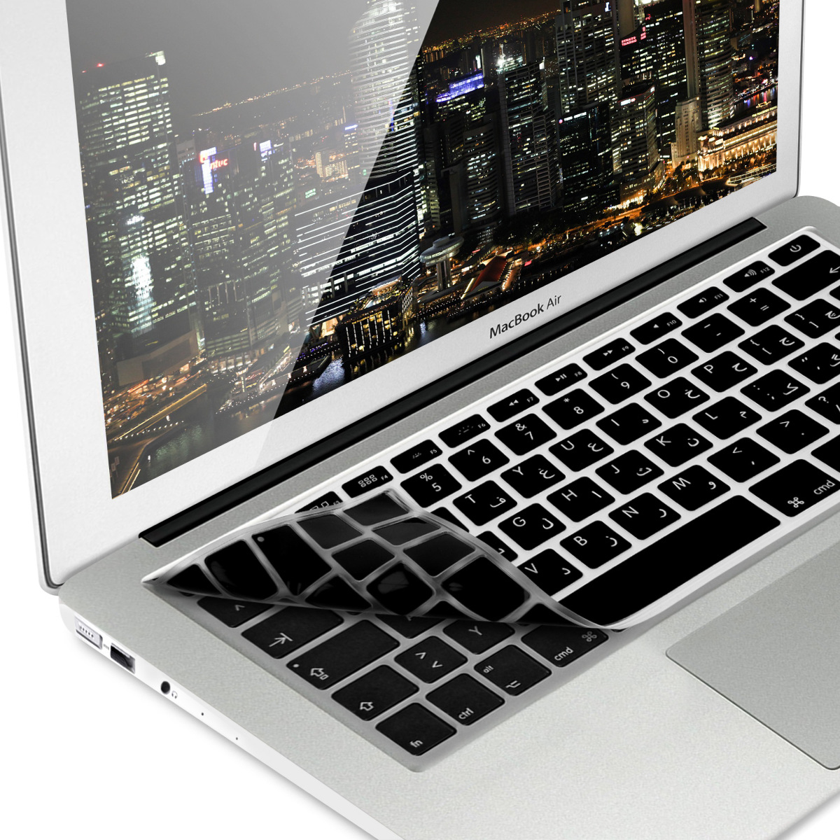 Macbook Air 13 Pro Retina Details About Keyboard Cover Qwerty Arabic For Apple Macbook Air 13 Pro Retina 13 15
