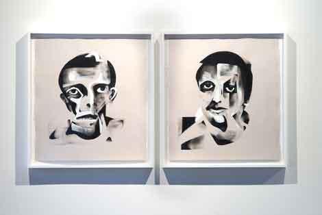 Bill Maass, Untitled Portraits, 2013