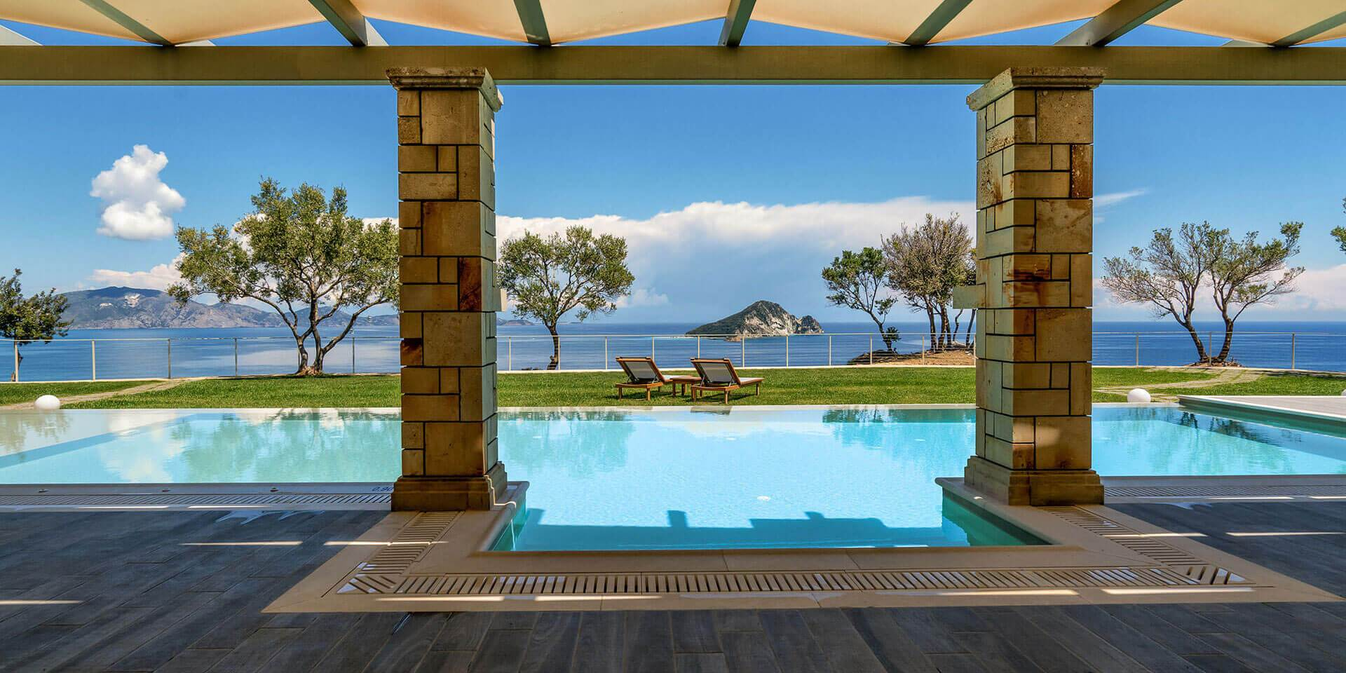 Ferienhaus Mit Pool Zakynthos Artina Private Pool Luxury Villas In Zakynthos Zante Greece