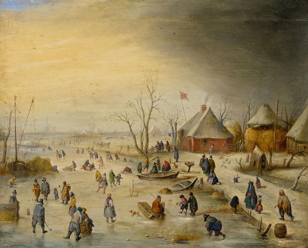 De Stomme Van Kampen Hendrick Avercamp Biography Artwork Galleries Online Blouin