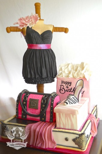 Party Chic Sculpted Cakes | Artisan Cake Company