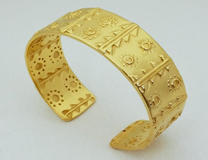 Meso American Cuff Bracelet