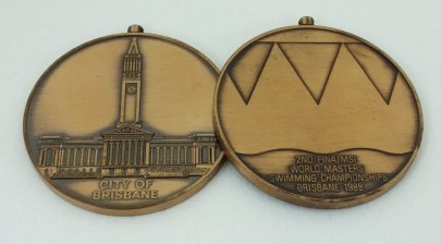 sports medal restoration project