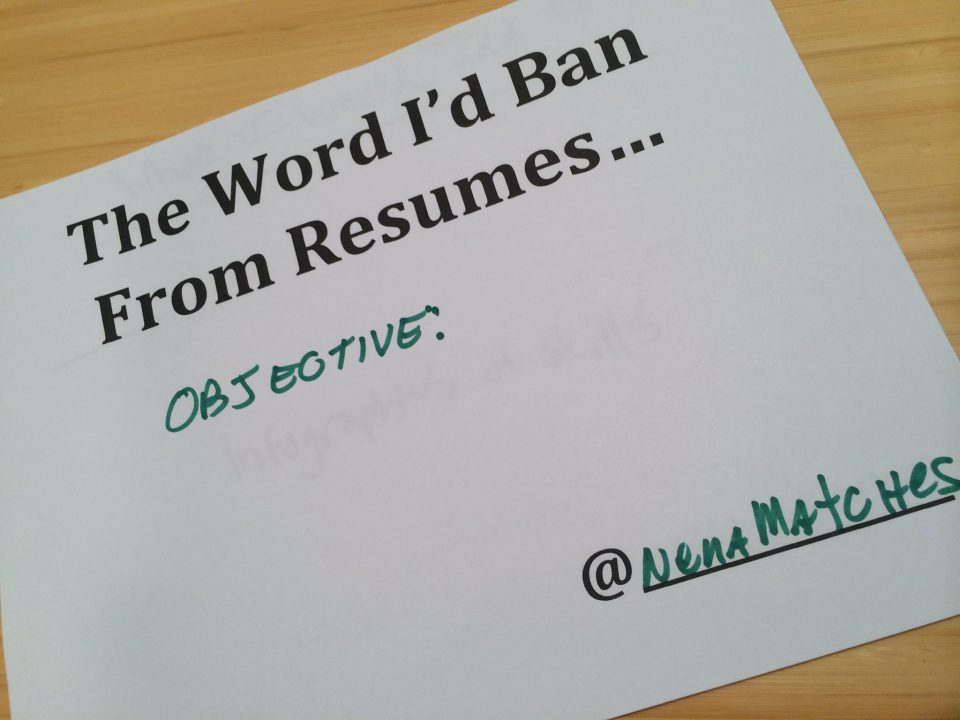 Do you REALLY need a resume objective? - Artisan Talent