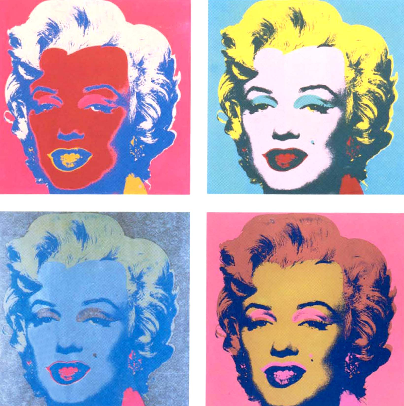 Marilyn Pop Art Andy Warhol Andy Warhol Style Gallery 7 Digital Studio