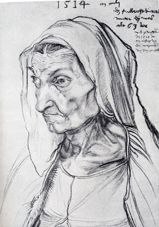 Dürer's Mother, Albrecht Dürer