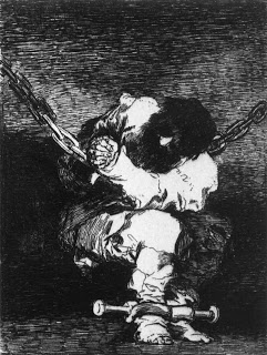 The Captivity is as Barbarous as the Crime, Francisco Goya