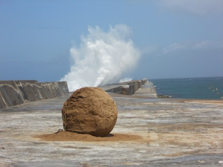 Breakwater by Andy Goldsworthy