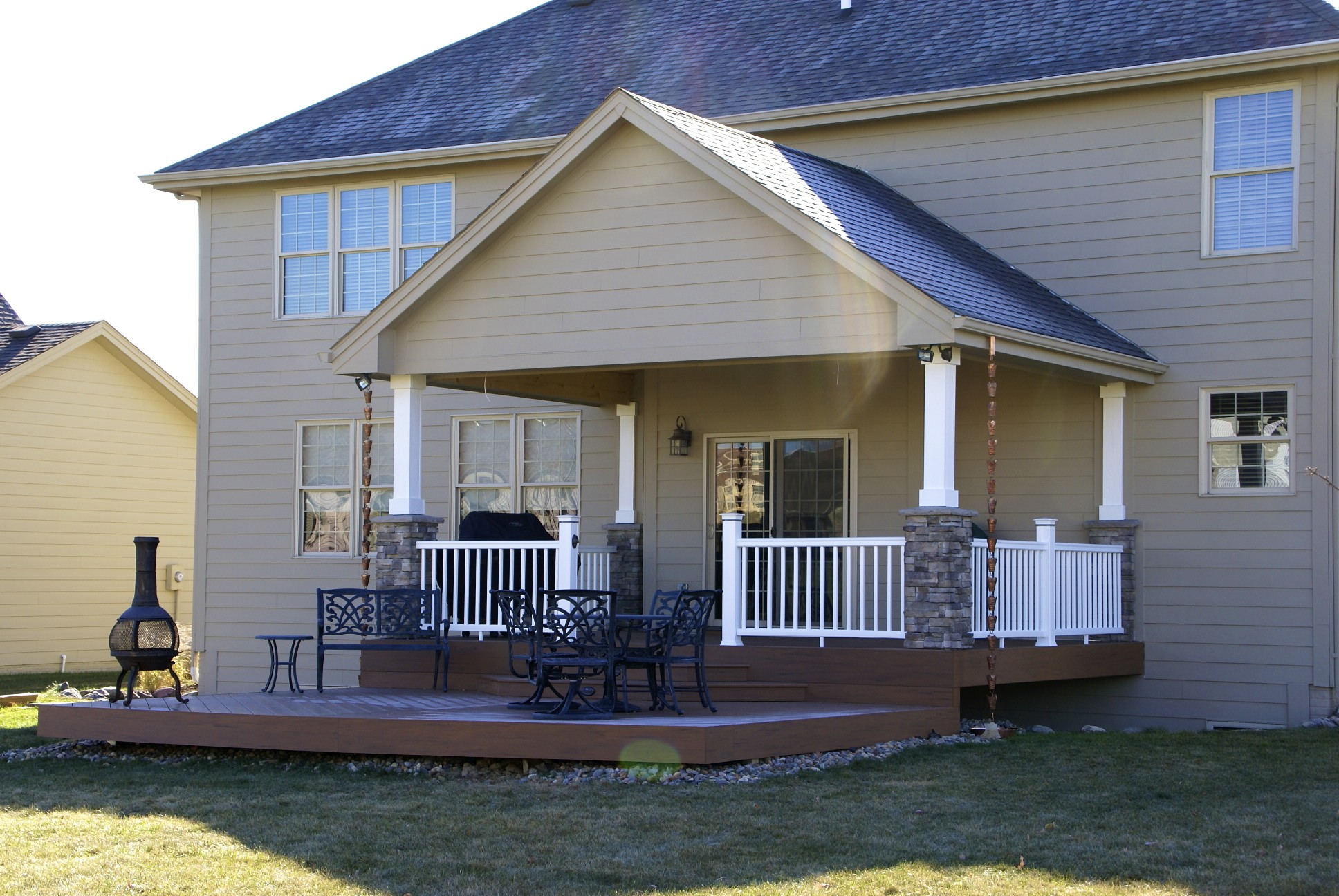 Remodeling artista builders for Covered porch plans