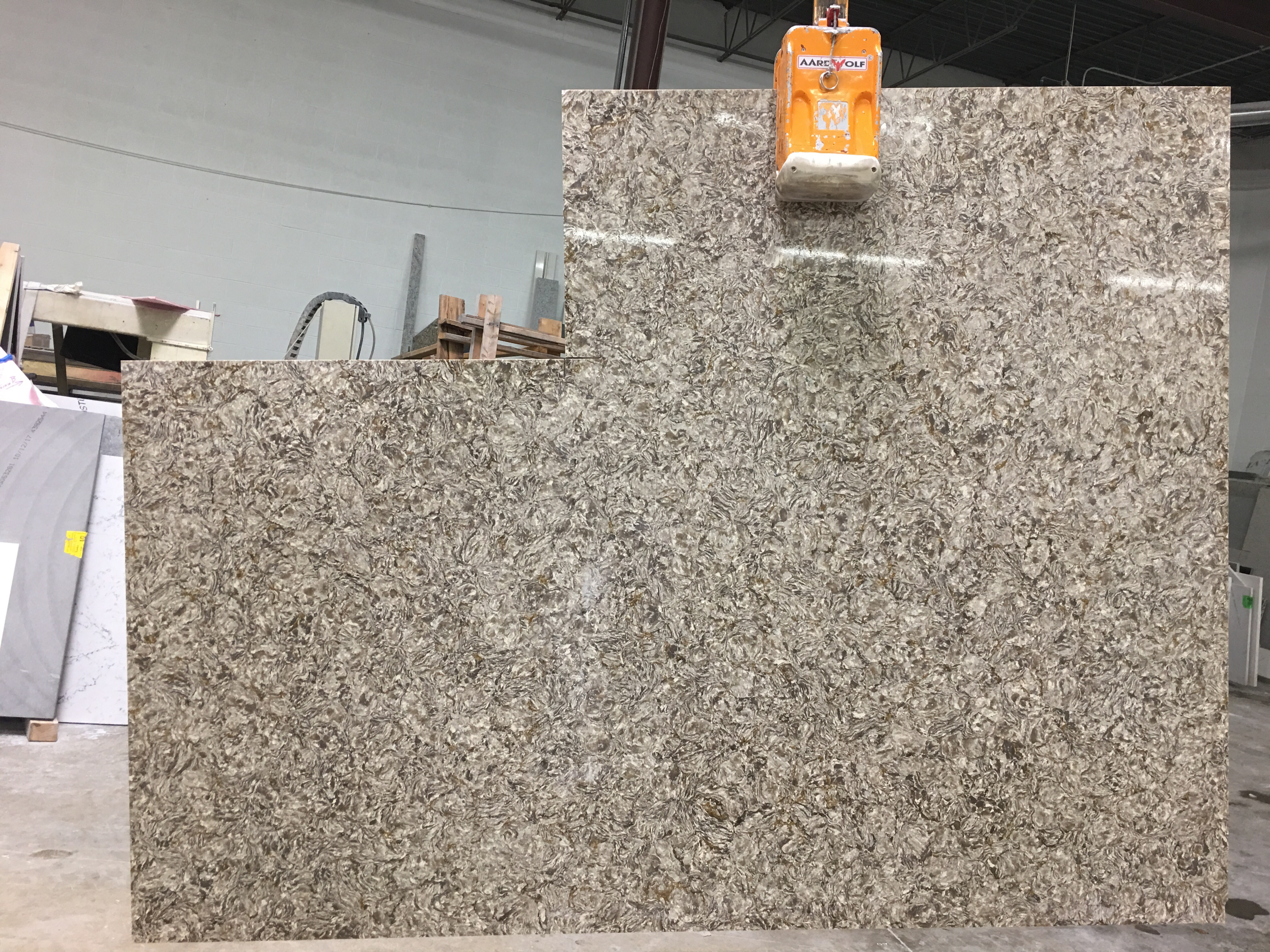 Taupe Quartz Countertop Remnants Chantilly Taupe Artistic Granite And Quartz