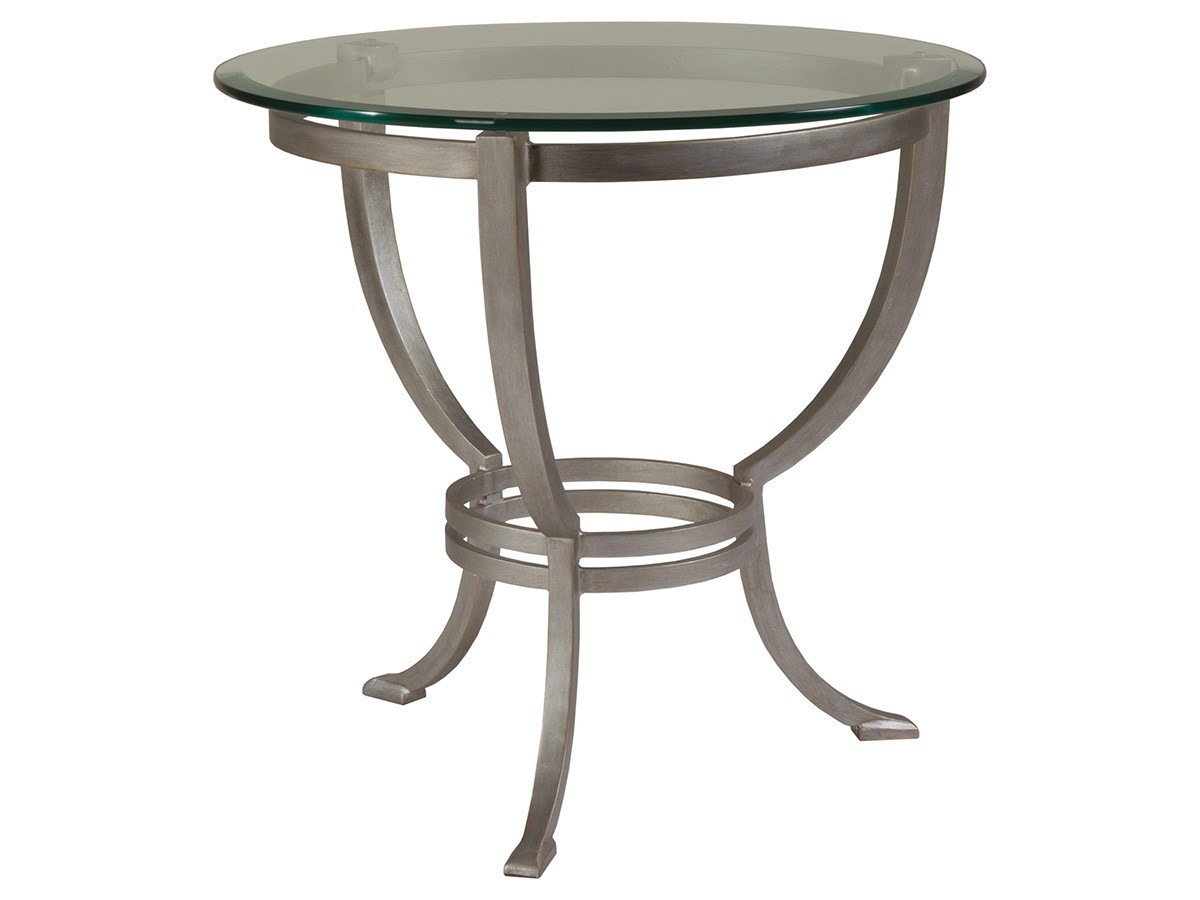 Circular End Tables Andress Round End Table