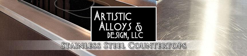 Stainless Steel Countertops Phoenix Artistic Alloys  Design LLC