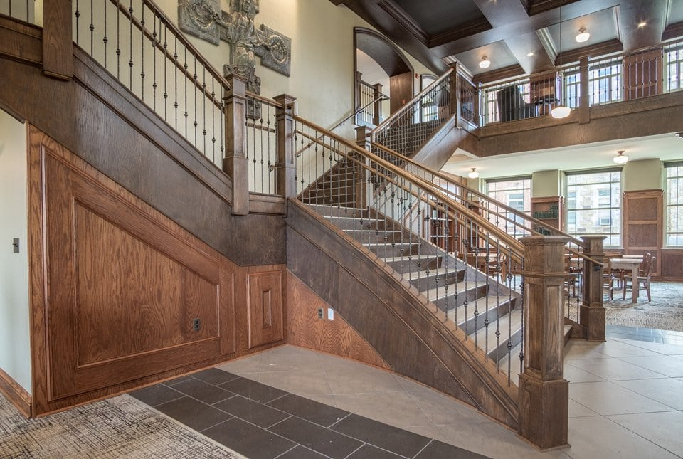 Tucson Architects Rustic Staircase Design | Rustic Balusters | Southern