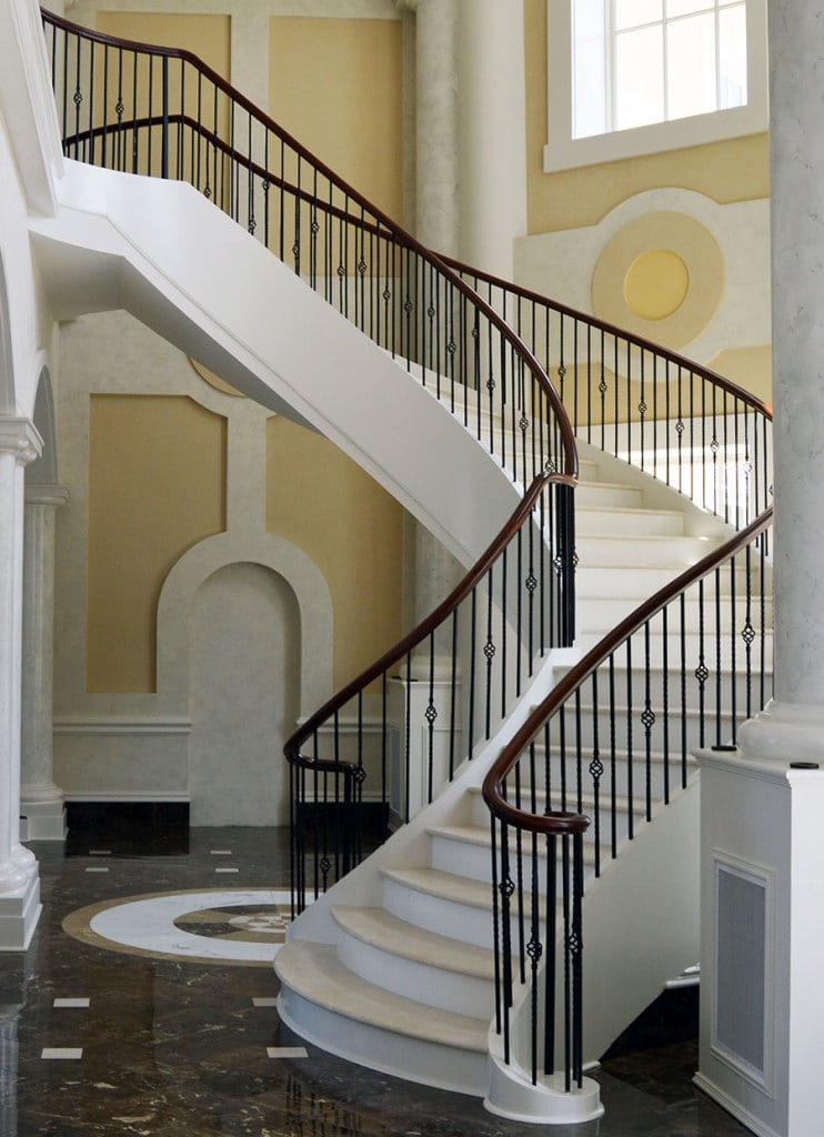 Tucson Architects Curved Stairs | Curved Staircase Designs | Custom Curved