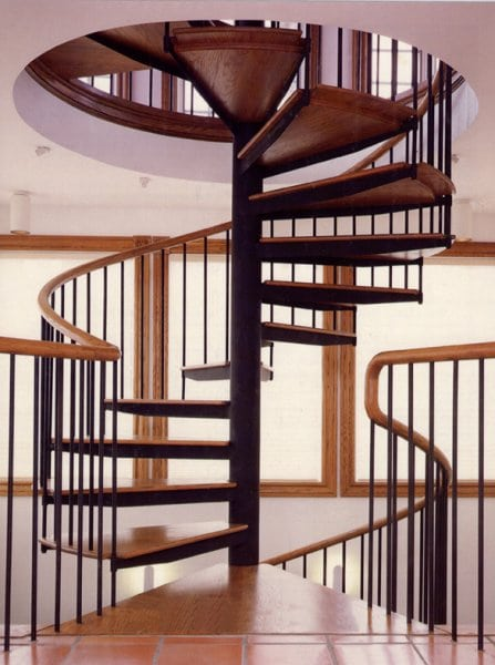 Tucson Architects Spiral Staircase | Spiral Stair Design | Southern