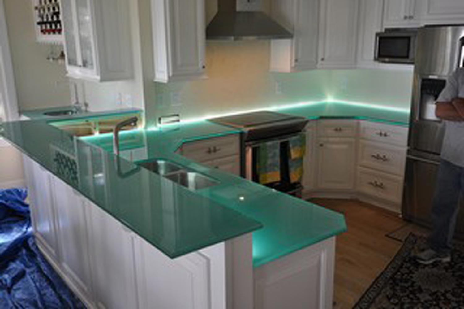 Black Recycled Glass Countertops Granite Countertop Fabricators Richmond Va