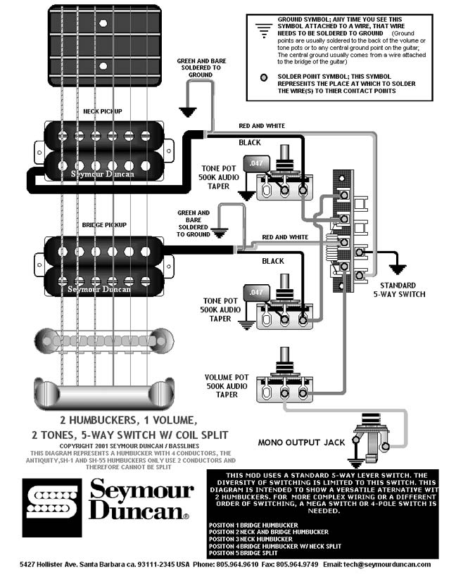 5 Way Super Switch Wiring Diagram 2 Hums - Simple Electrical Wiring