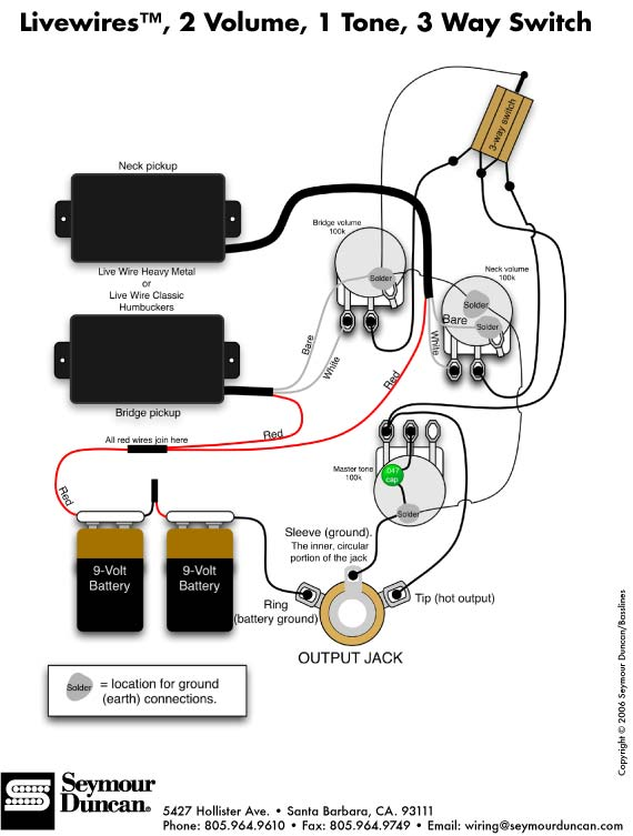 Active Emg Pickups Wiring Download Wiring Diagram