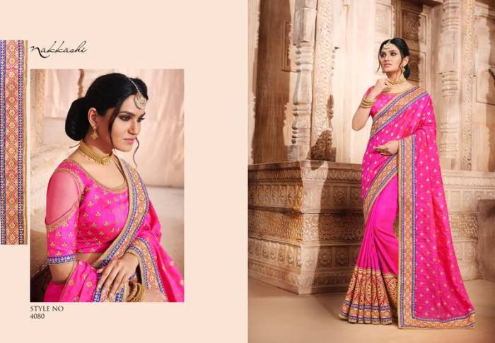 Nakkashi Elegance Euphony Designer Saree 4080 | Party Wear for LadiesShop Online Nakkashi Elegance Euphony Designer Saree 4080 @ArtistryC | Best Price: Rs 4057 or $ 68 | Free shipping in India - International shipping