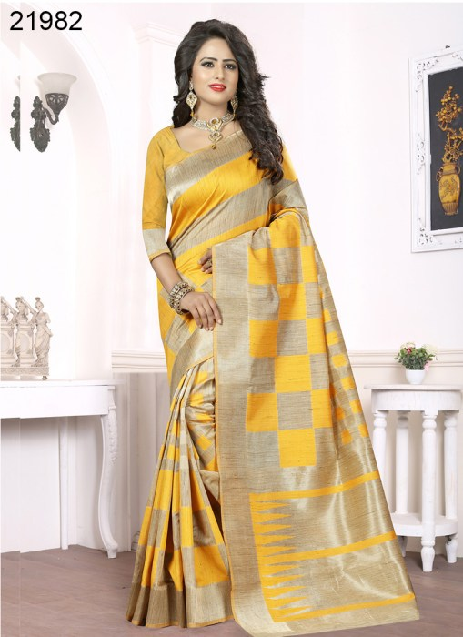 Banarasi Silk Narissa 21982 | Occassional Wear for Ladies
