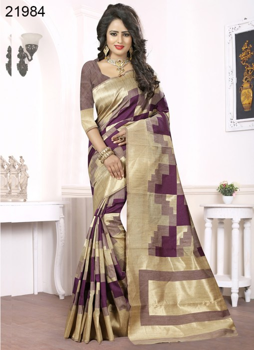 Banarasi Silk Narissa 21984 | Occassional Wear for Ladies