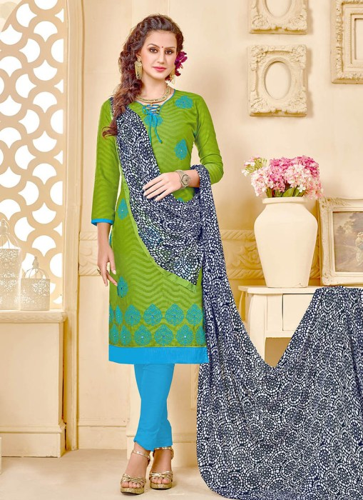 Cotton Jacquard Dress Material Roohanika 21697