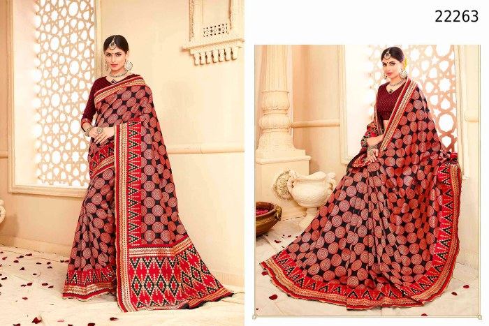 Newly Wedded Bridal Saree Fenal 22263 | Bride Special