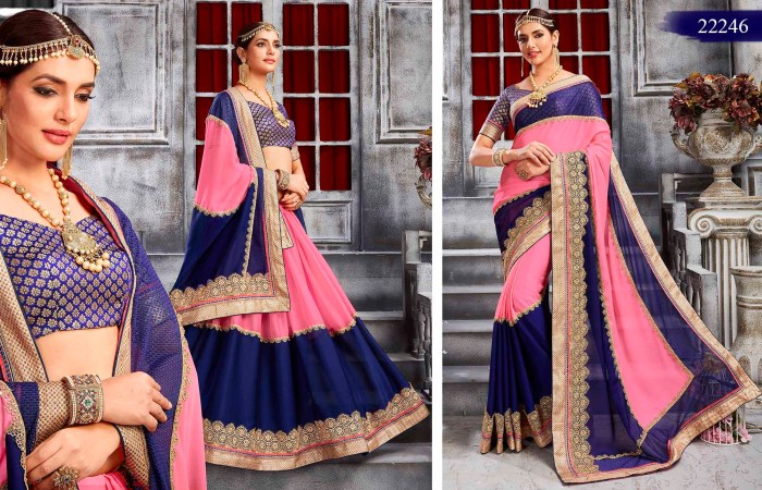 Newly Wedded Bridal Saree Yesenia 22246 | Bride Special