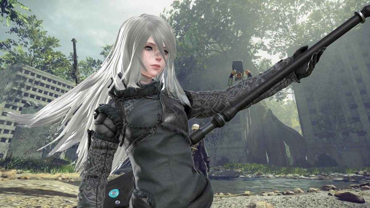 Anime Girl 1080p Wallpaper Neir Automata Dlc Coliseum Mode Gameplay 1080p 60fps