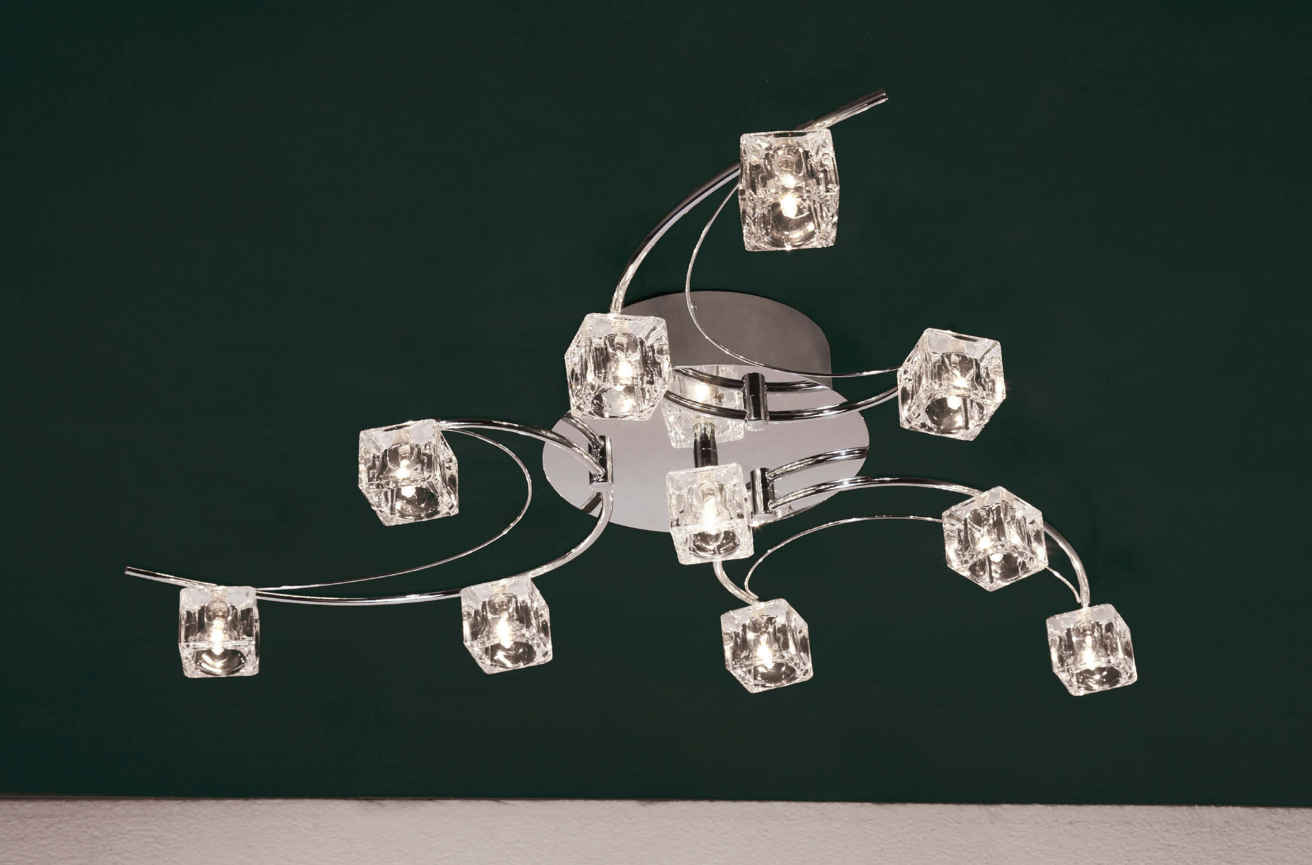 Plafonnier Design Style Vertigo Plafonnier Vertigo Lampe Suspension Led Lustre Chrome