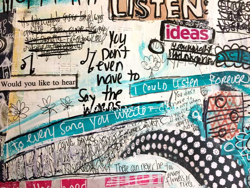 365 One Word Art Journal Prompts for Journaling  Creativity