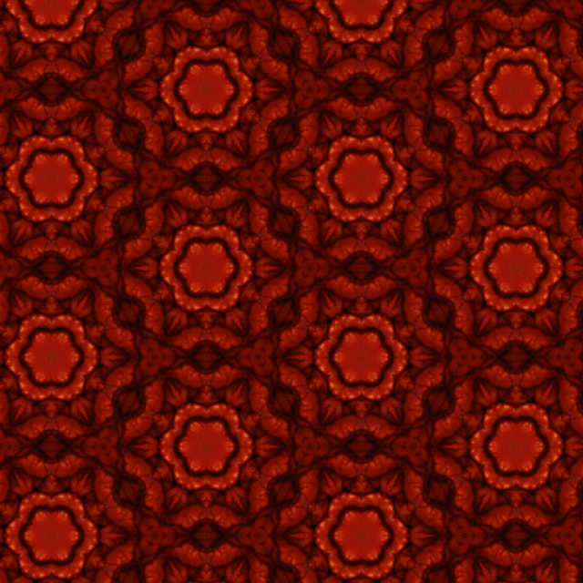 3d Damask Wallpaper Red Damask Geometric Floral Flower Abstract Created In