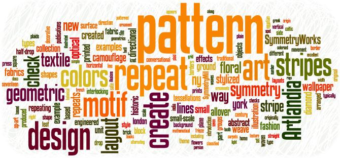 Artlandia Glossary of Pattern Design