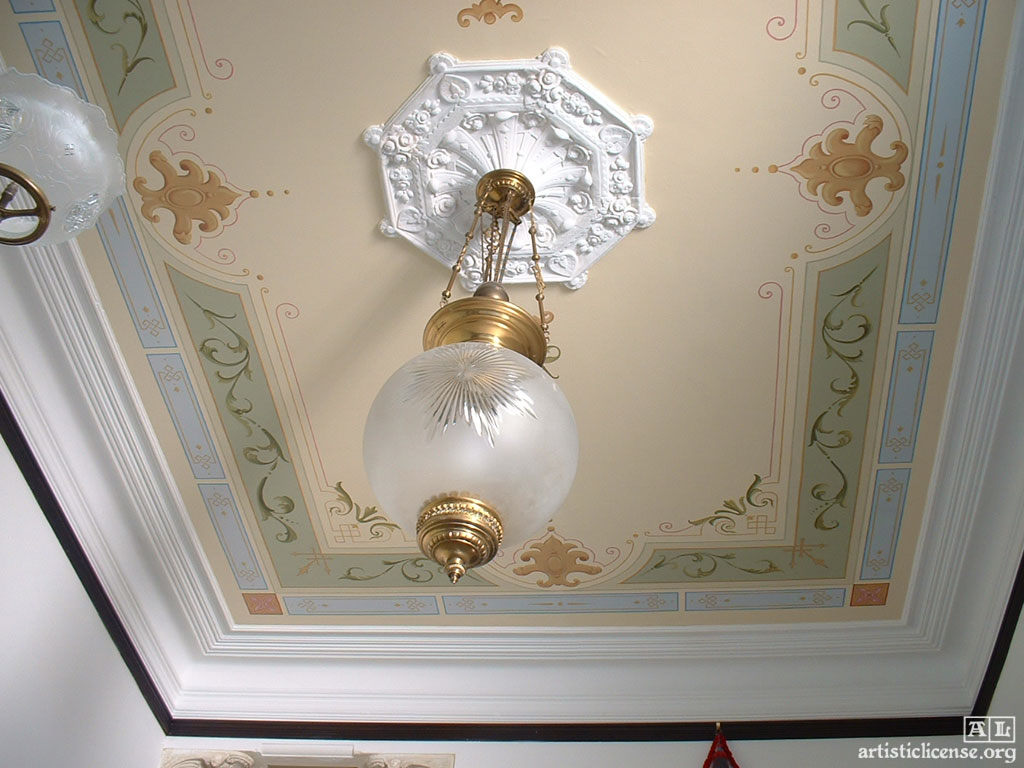Victorian Ceilings Ideas Adrian Card Decorative Painting Artistic License