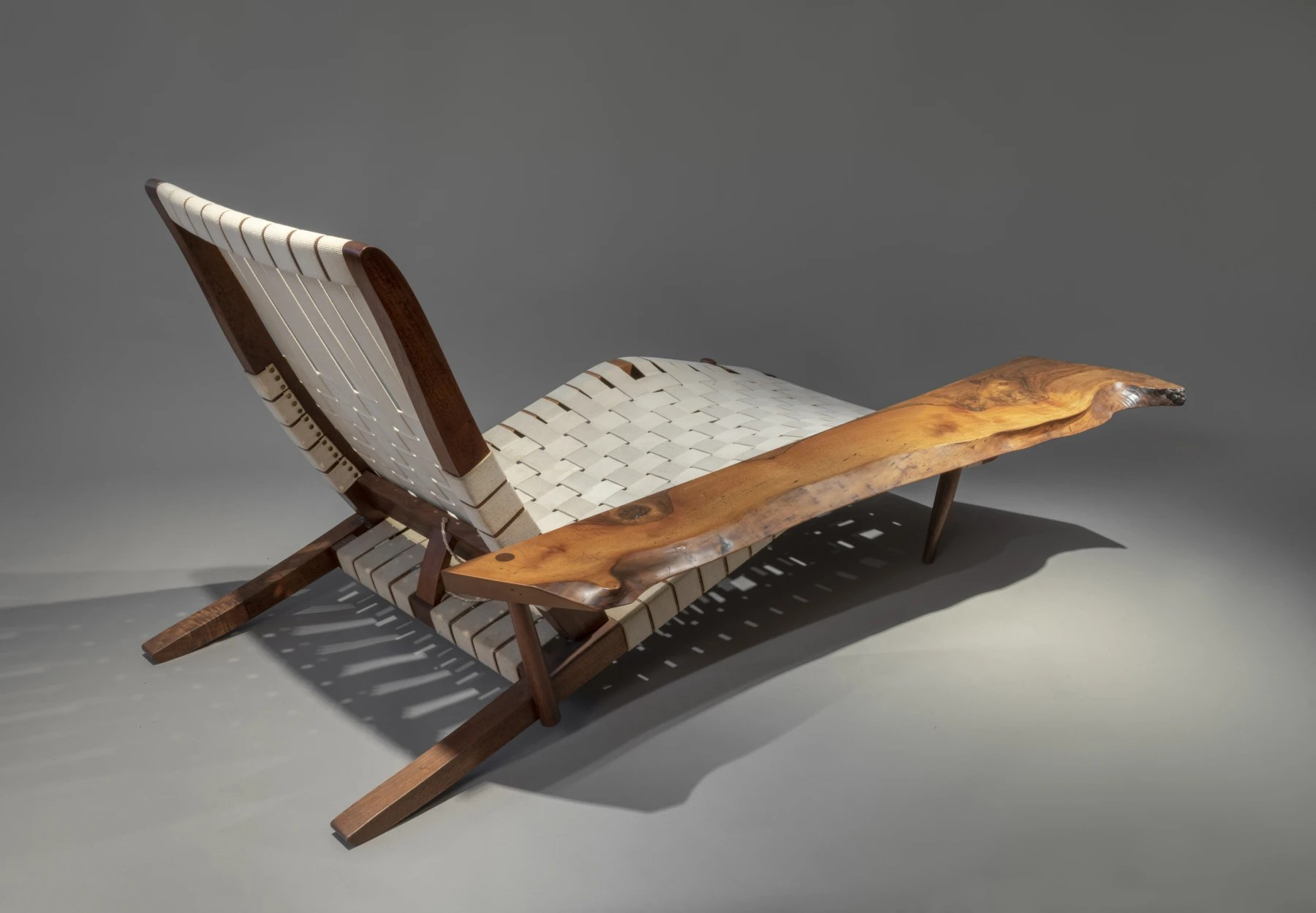George Nakashima Long Chair 1951 SÉlavy