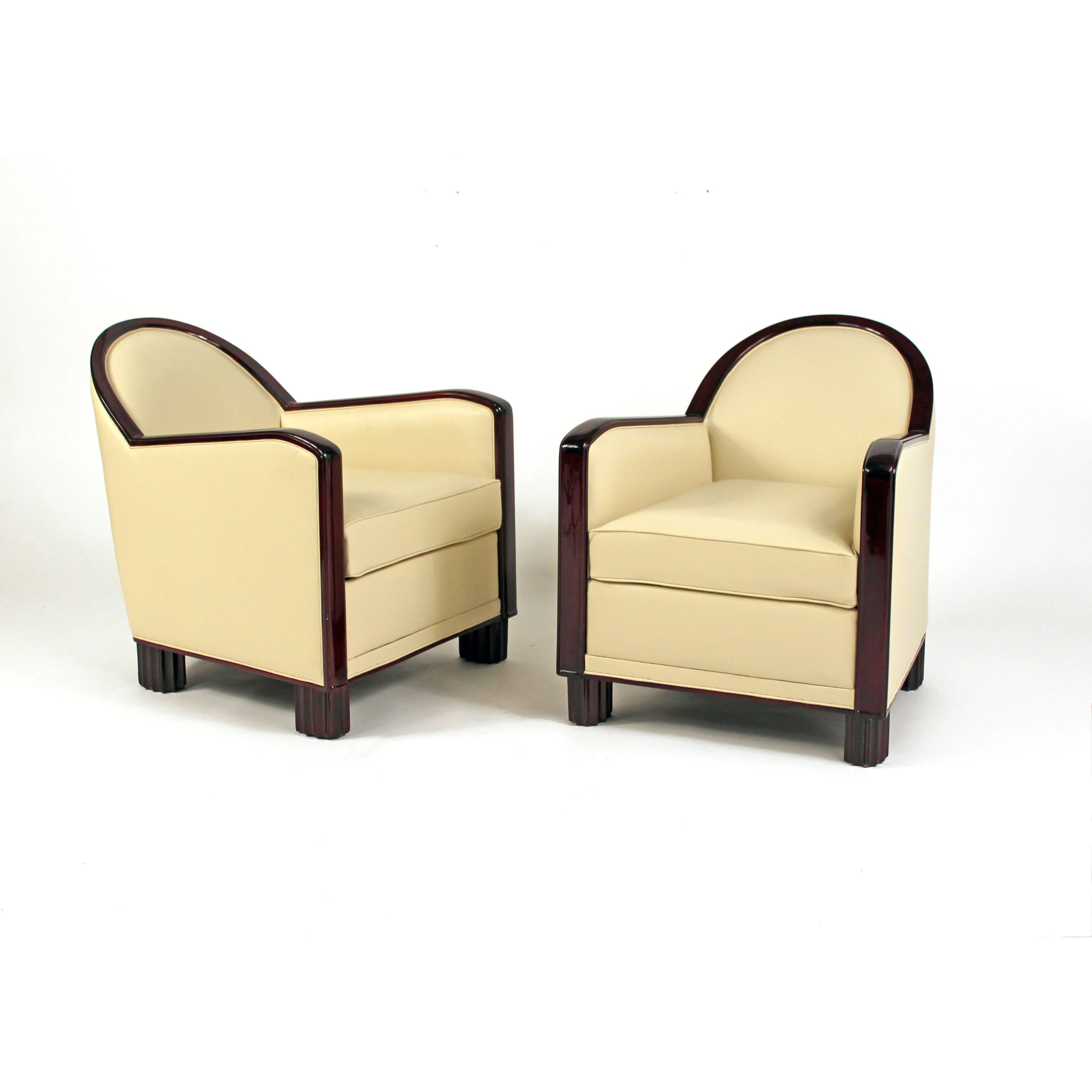 Modernes Bild Decoration Interieure Modernes (dim), Pair Of Art Deco Club Chairs, 1930 | Martell Gallery
