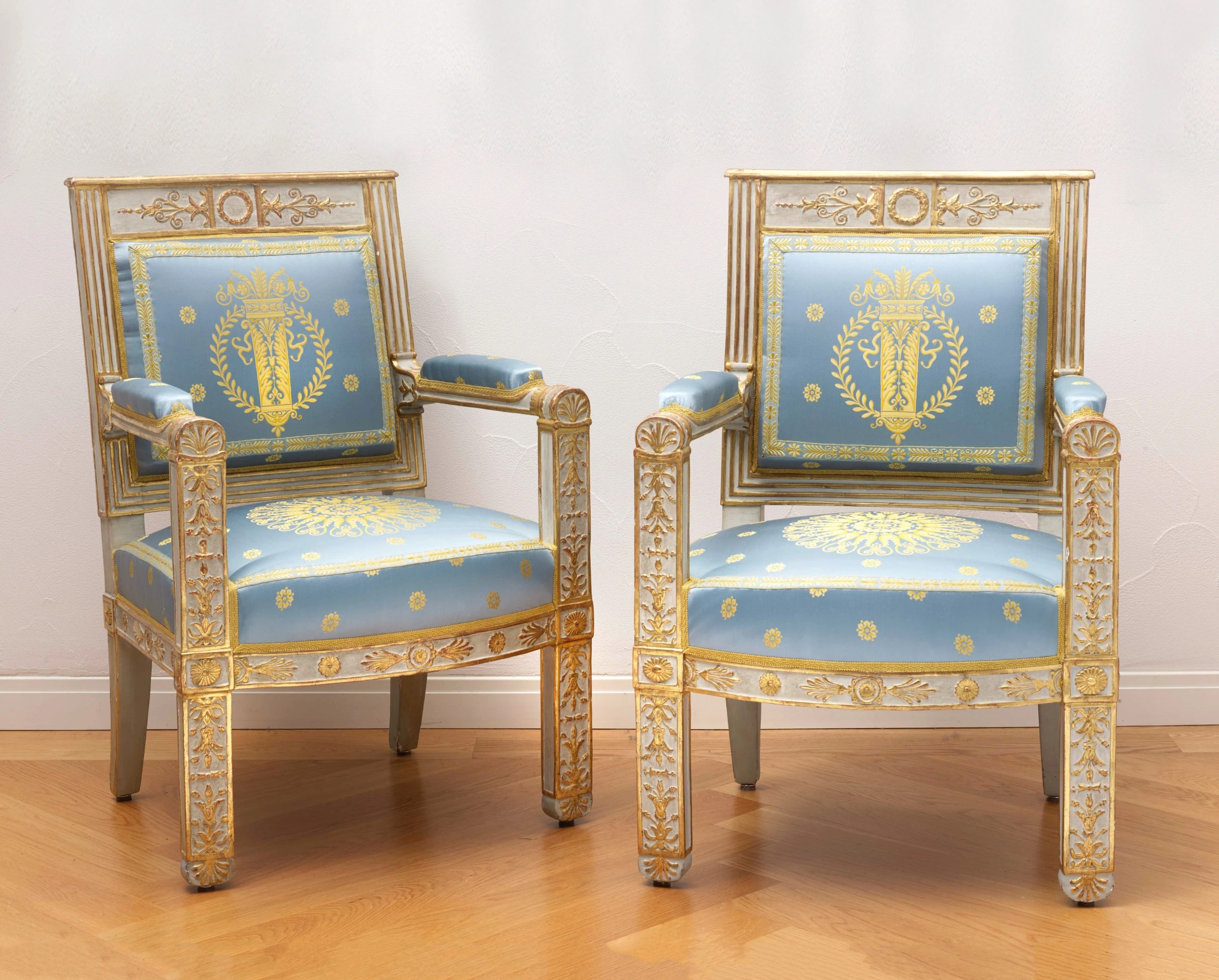 Pierre Gaston Brion Attributed To A Set Of Empire Furniture Comprising A Canapé Two Fauteuils And Two Side Chairs Attributed To Pierre Gaston Brion Paris Date Circa 1809 Richard Redding Antiques Ltd