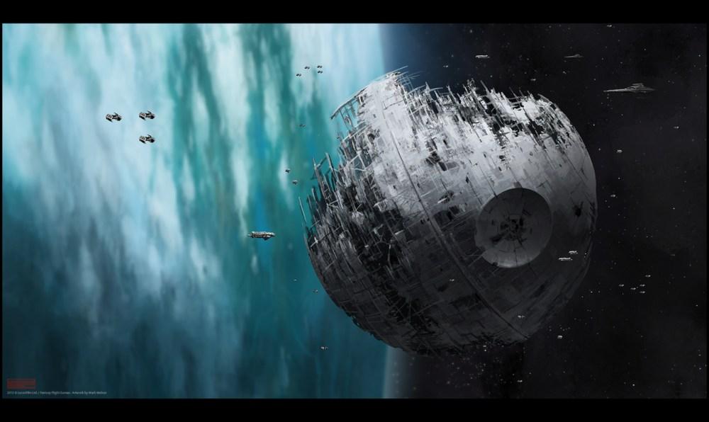 Star Wars Death Star 2 by Mark Molnar