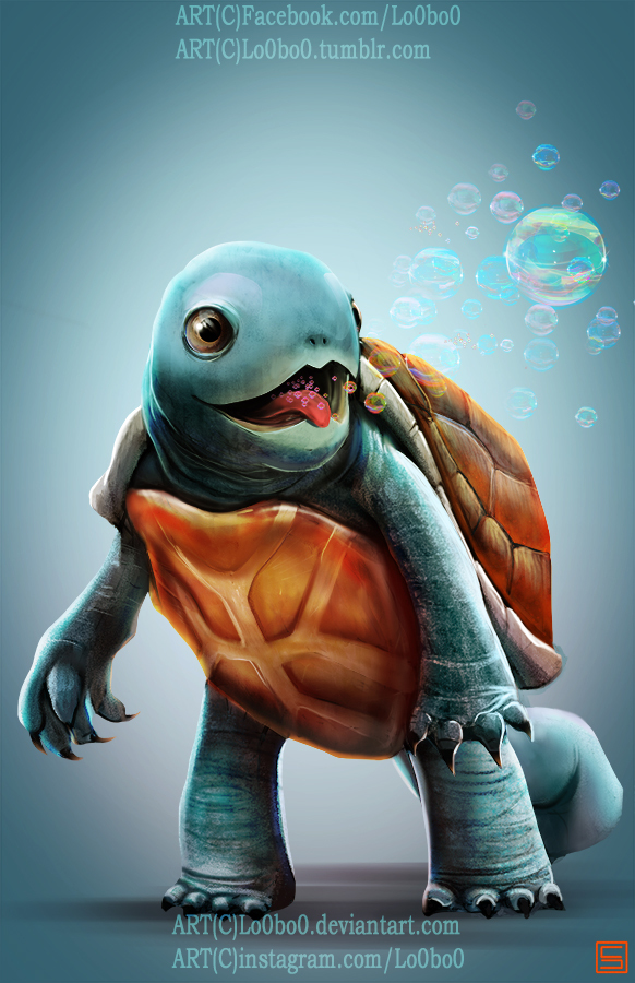 pokemon project 007 squirtle bylo0bo0 by sergiopal