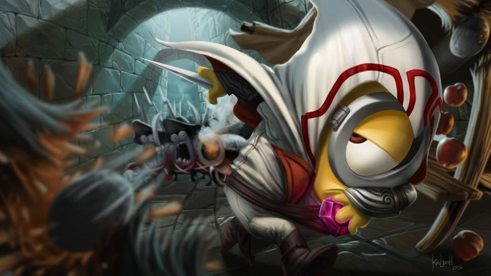 assassin minions creed by jepoykalboh