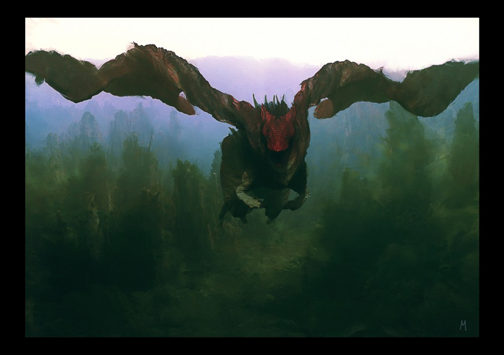 Flying Dragon by Chema Mansilla
